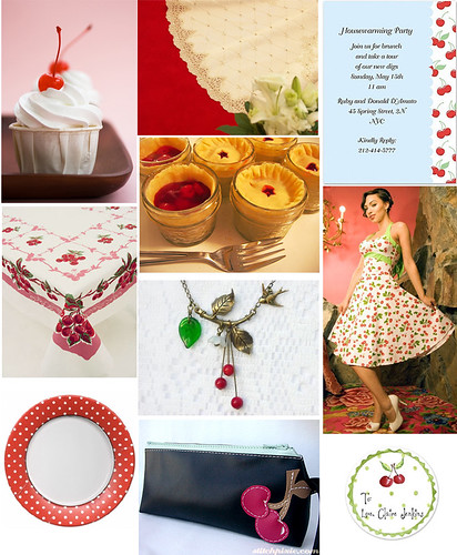 Cheerful Cherry Party Theme