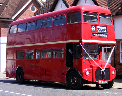 Routemaster Wedding
