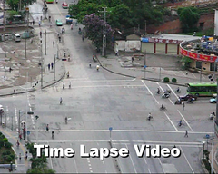 Nanning Intersection - Time Lapse (Life in AsiaNZ) Tags: life china street people canon movie timelapse video traffic time chinese powershot vehicles movies production intersection videos lapse nanning guangxi g9 canong9 lifeinnanning timelapsevideo flickrgiants