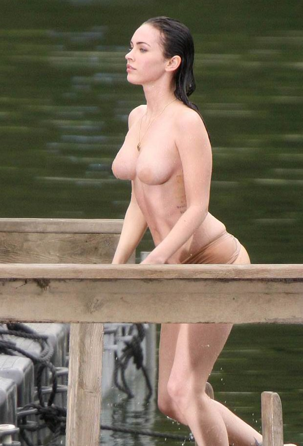 Megan Fox (Jeenifer body, on set)