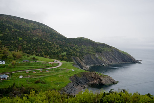 Meat Cove - Way Up There