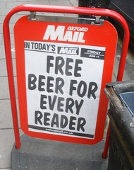 Free media as in free beer