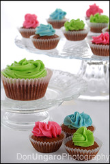 CupCakes (Don Ungaro) Tags: pink blue food color verde green cup cake azul sweet many comida cupcake varias torta magdalena dulce rosado muchas flickrcolour