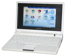 Assus Eee PC 1000 blanco Linux