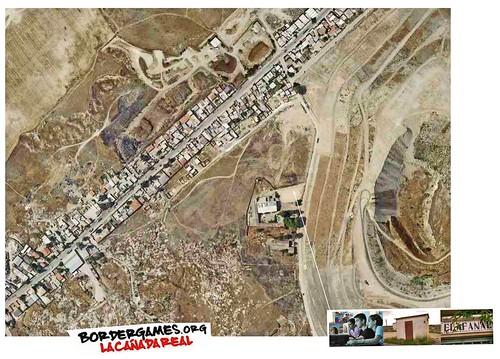 Cañada Real Galiana, vista aérea