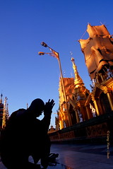 Myanmar (lianghuanchuan_2000) Tags: world travel blue summer sky people color art colors yellow architecture digital asian photography photo asia photos culture myanmar