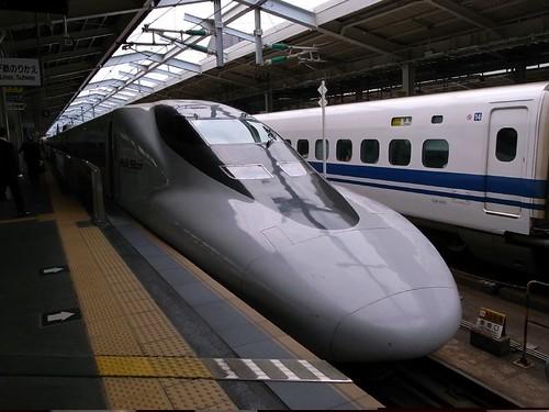 好久不見新幹線!