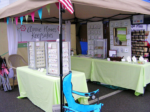 Annie Howes Keepsakes Booth