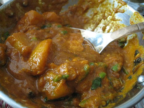 Second attempt at vindaloo - much hotter but not deadly