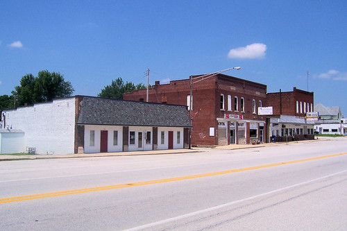 Michigantown business district