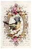 Bird Queen Antique Letter Collage (ms_mod) Tags: roses bird art collage handwriting vintage paper print antique ooak victorian queen ephemera letter tintype crown etsy baroque dollfacedesign