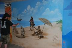 DSC_0786 (Kurt Christensen) Tags: art beach painting mural surf thrust gilgobeach gilgo