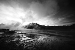 Early morning at the Tatio Geysirs