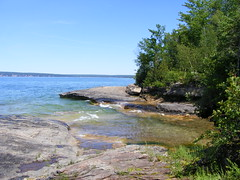 paradise (nobodysnothing13) Tags: christmas up rocks pretty paradise cove michigan bluewater greatlakes lakesuperior yooper uppermichigan picturedrocks yoop