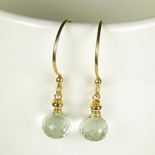 collection essentielle - green quartz and gold