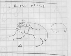 Irimi Nage Boceto / Sketch