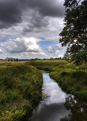 Countryside: River scene (Tim Blessed) Tags: uk sky nature water clouds landscapes countryside scenery rivers anawesomeshot singlerawtonemapped natureselegantshots