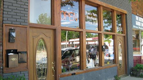 Rae's- Front Door
