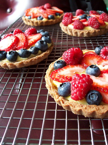 Summer Berry Tarts 1
