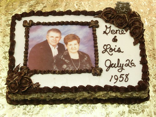 50th Anniversary Cake for Gene & Lois Hebert