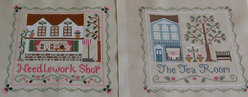 Needlework Shop and The Tea Room