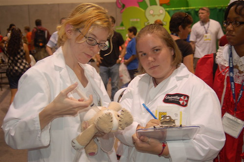 Comic Con 2008: Umbrella Corporation Scientists