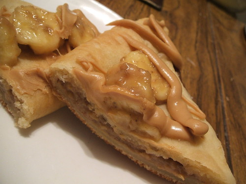 flaky peanut butter banana foldovers2