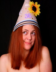 Day 54: Happy Birthday (The Andrea) Tags: me 36 mybirthday hdt 365days frg 365explored coolkidstable fabulousembellishedpartyhats
