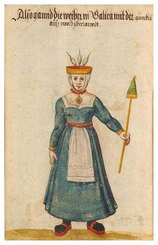 14- Vestimentas en Portugal y España año 1600, 14v
