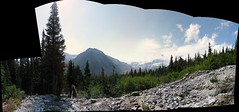 glacier basin trail panorama - original (Sunrise, Washington, United States) Photo