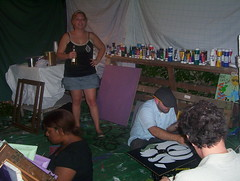 8-8-08 with Section 8 - Dragons Den Paint Party