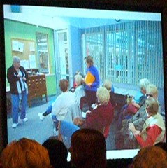 "Alan M. Kleimann's presentation on ""Senior Spaces"""