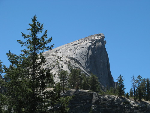 Half Dome summit route