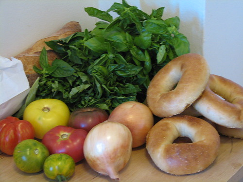 farmer's market goodies