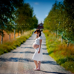 The Long Journey Begins (Lisa Rsten  |  Fotografix Studios) Tags: trees baby colors country environmental pregnant explore maternity dirtroad cowboyhat client coolshot exploretop10 visiongroup nikond3