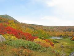 緑岳と空沼