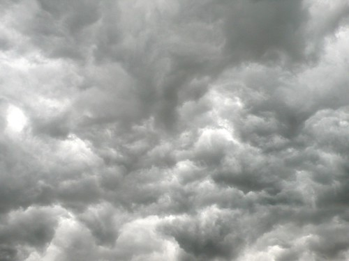 Storm weather over Feldbrunnen