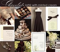 2781825856 a2f674f5ba m Baú de ideias: Decoração de casamento marrom (chocolate) e outras cores
