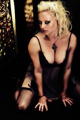 Meow (ShotsbyGun.com) Tags: portrait fashion model women august blonde 2008 d300 50mmf14d