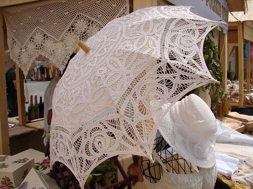 Dantel Şemsiye Modelleri