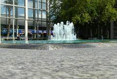 Queens Court (Martin Pettitt) Tags: milton keynes waterfeature foutain