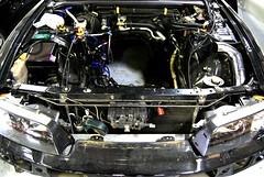 gt auto garage (boogalloo) Tags: auto cars skyline mazda rx7 gtr lancerevo