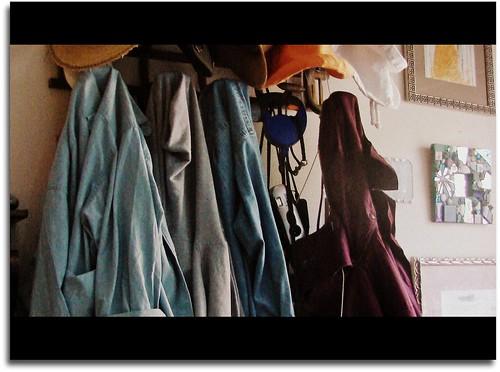 sunroom coat rack