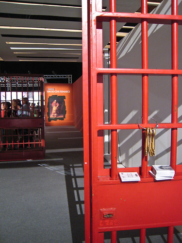 Entry to the Prisoners Exhibit