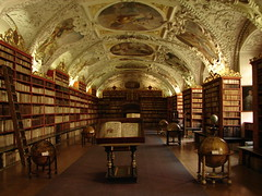 Strahov Monastery (Strahovsky klaster) (Tjflex2) Tags: trip travel vacation holiday history beautiful architecture nice europe cityscape tour prague walk scenic praha czechrepublic historical hradany worthwhile strahovmonastery greatcity strahovskyklaster