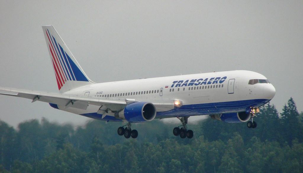 Transaero B767-200 Domodedovo