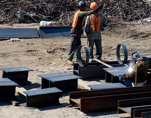 Vanderbilt Yard construction