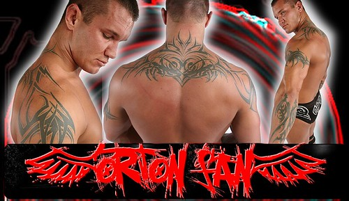 randy orton tattoo. visit www.legend-killer.de