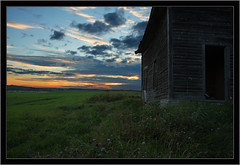 Canadian Sunset (Martin Michel) Tags: old sunset sky canada rural photoshop canon quebec amos 1755 cs3 40d