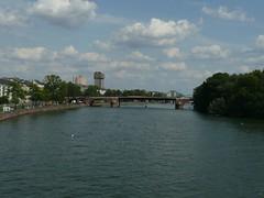 P1030252 (Michael Afar) Tags: germany bridges rivers frankfurtmain